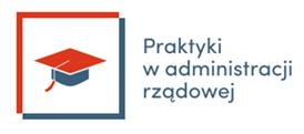 """logo """"Prakatyki w administracji rządowej"""""""